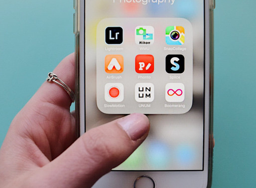 My Top 5 Favorite Photography Apps