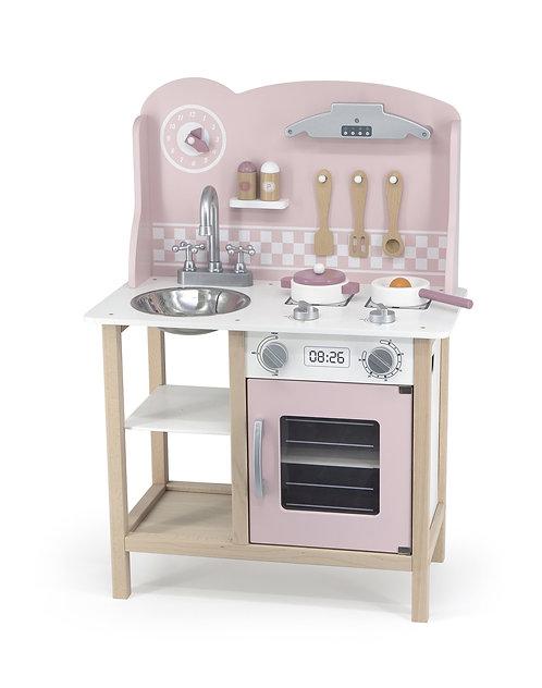 VIGA Kuchnia z akcesoriami silver-pink