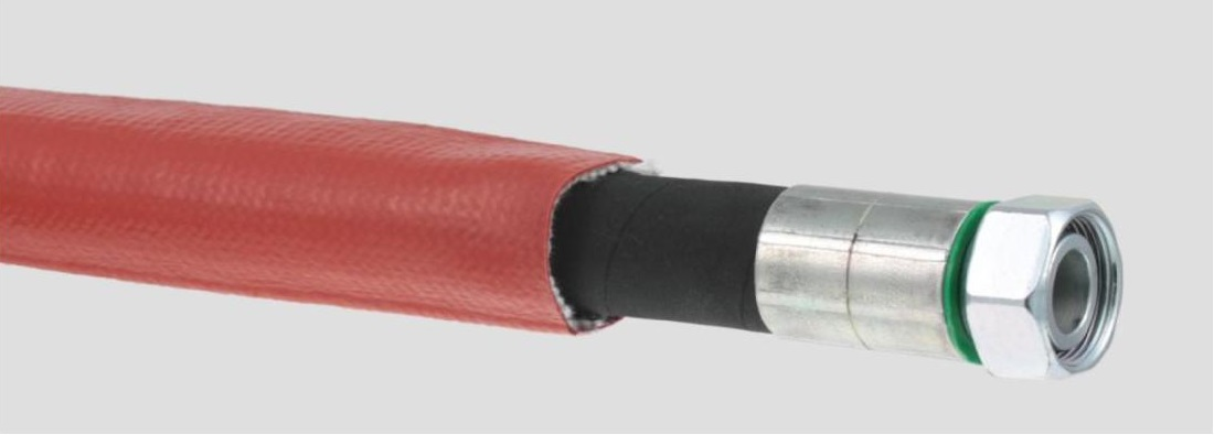 Hose protection-Fire protection hose