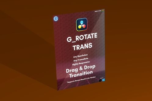 Davinci Resolve Rotate Transition