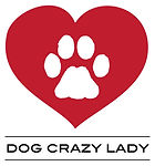 logo is a red heart with a white paw in the center