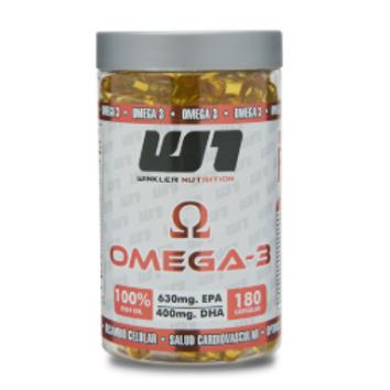 Omega 3 180 Cápsulas 60 Porciones
