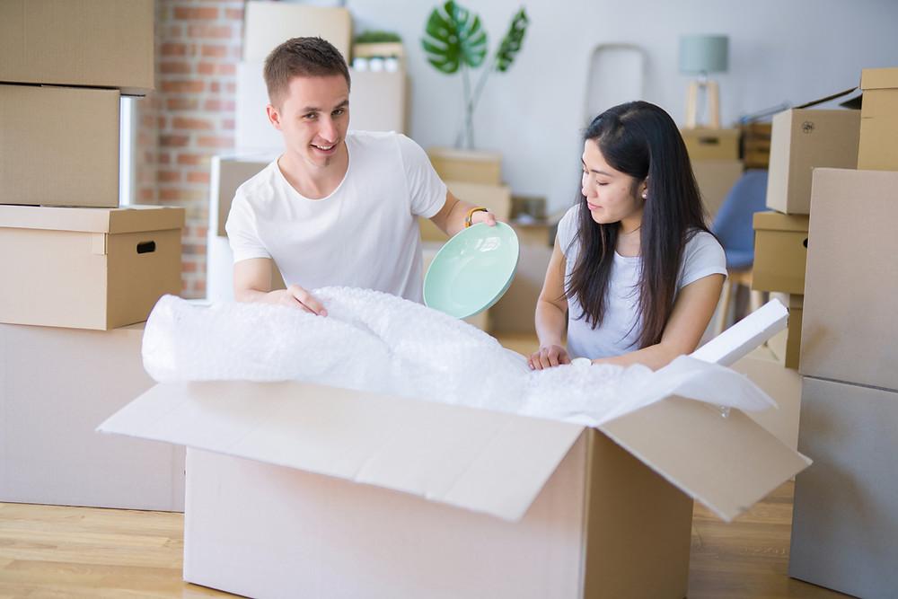 garde-toi des boites ouvertes pour le jour de ton déménagement