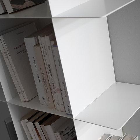 Librerie In Metallo Componibili.Innesto Modulo A C Per Libreria Componibile In Metallo Eliarreda