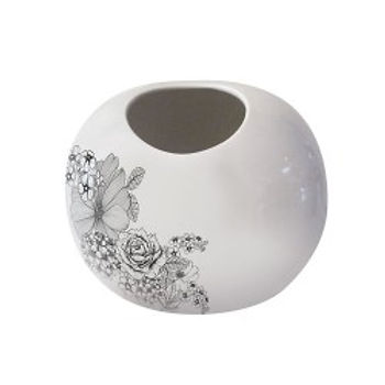 VASO BALL ROSE PICCOLA 28/32 CM