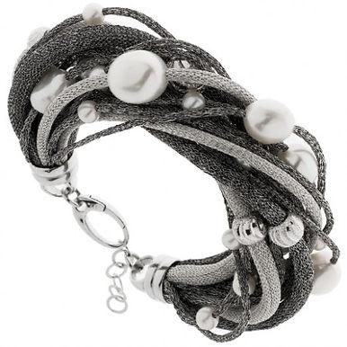 Bracciale in argento 925/perle naturali
