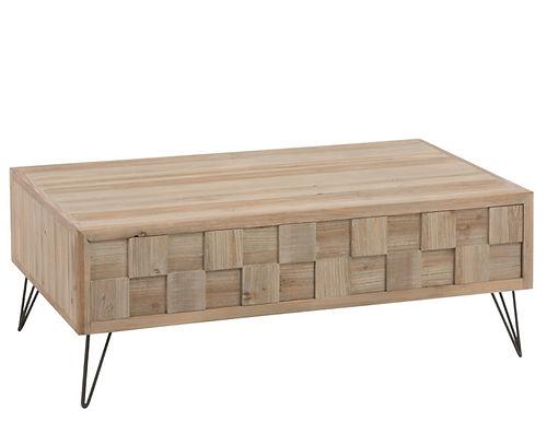 Tavolini da caffè in legno naturale