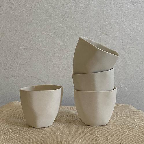 Espresso Flax Ceramic  Cups