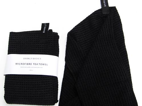 Barkly Basics Black Microfibre Tea Towel