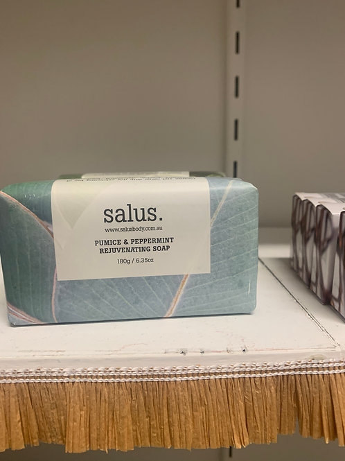 Salus Pumice and Peppermint Rejuvenating Soap