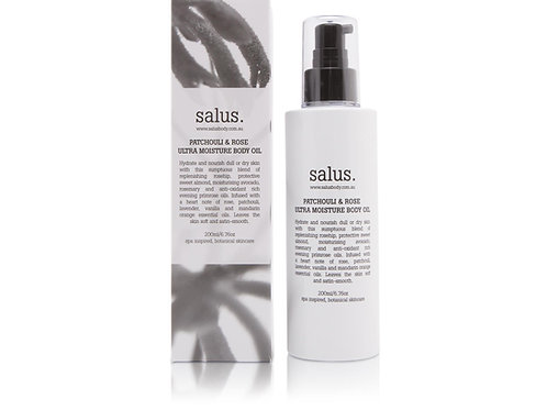 Salus Body Patchouli & Rose Ultra Moisture Body Oil 200ml