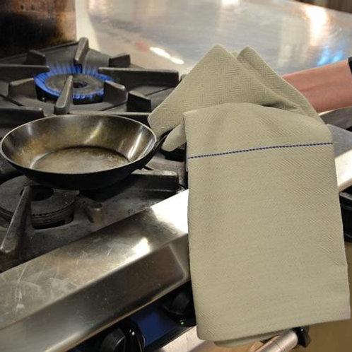 oven cloth herringbone