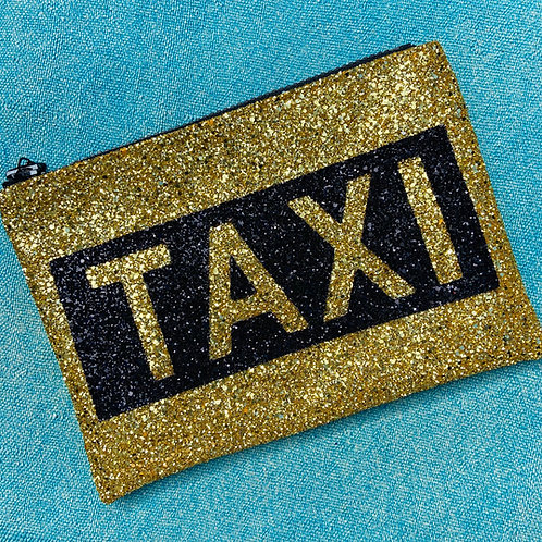I Know the Queen Glitter Clutch - Taxi