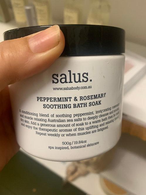 Salus Peppermint & Rosemary Soothing Bath Soak