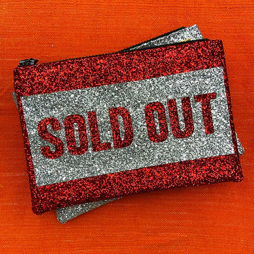 I Know the Queen Glitter Clutch - Sold Out