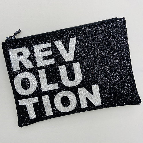I Know the Queen Glitter Clutch - Revolution