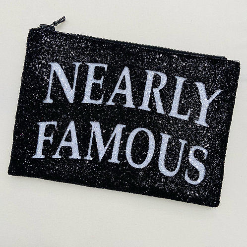 I Know the Queen Glitter Clutch - Nearly Famous