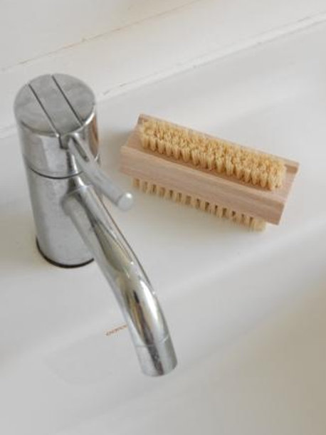natural fibre nail brush