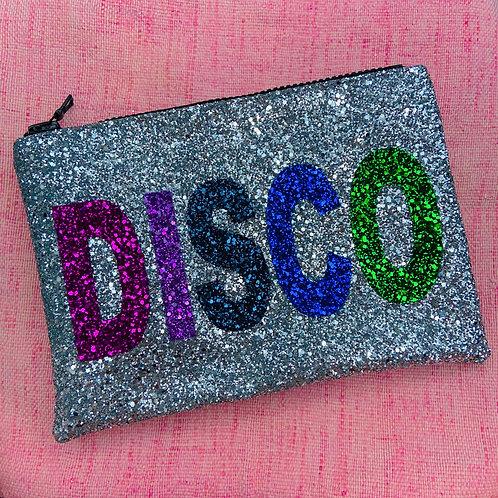 PRE-ORDER I Know the Queen Glitter Clutch - Disco