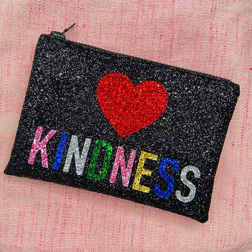 I Know the Queen Glitter Clutch - Kindness