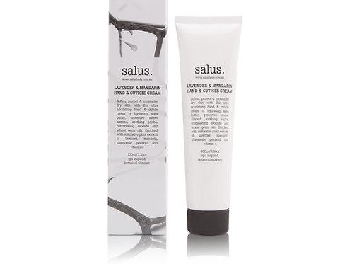 Salus Body Lavender & Mandarin Hand & Cuticle Cream 100ml