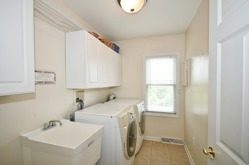 Laundry room on upper level! Washer/dryer included!