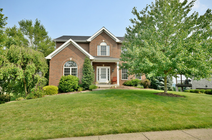 Stunning custom built home in Collier Township!