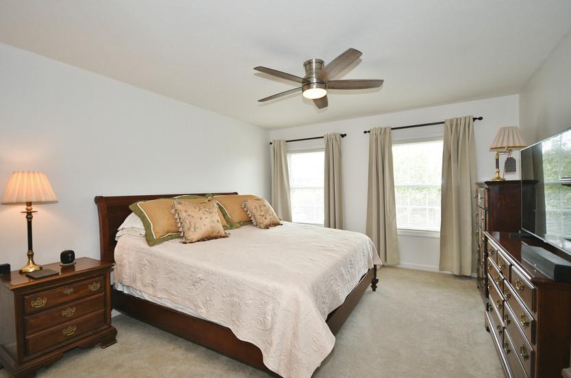 Spacious owner's suite!