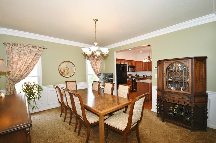 Large formal dining room!