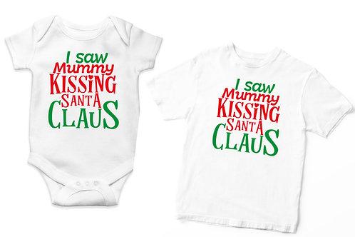 I Saw Mummy Kissing Santa Claus