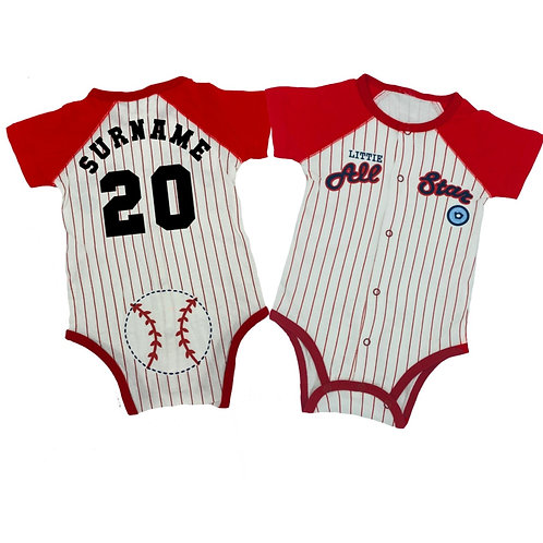 Baseball Bodysuit
