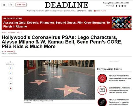 Deadline Hollywood Lumos PR Shie Rozow
