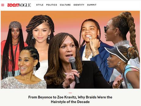 Teen Vogue Blackish Jada Pinkett Smith Araxi Lindsey Lumos PR