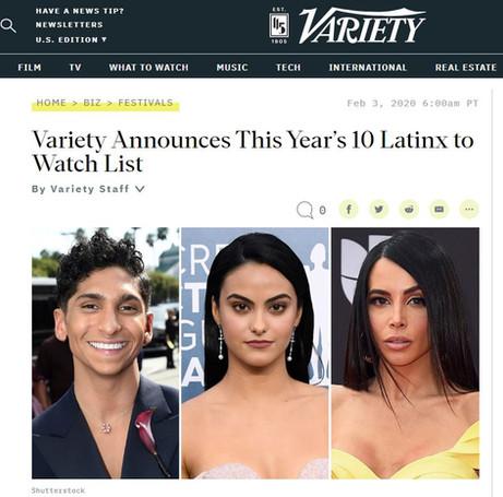 Carolina Costa Variety Lumos PR Stephanie Pfingsten