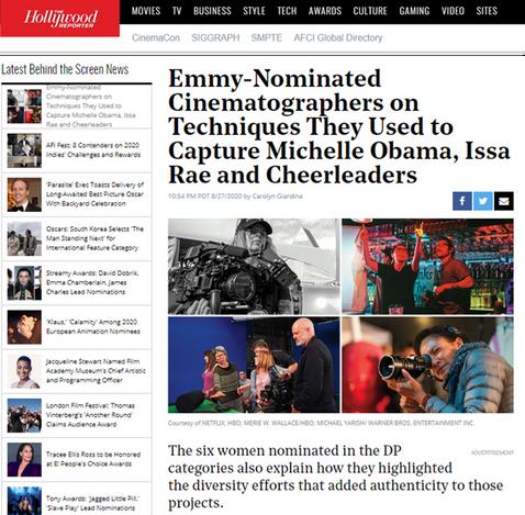 Emmys Ava Berkofsky Insecure Lumos PR