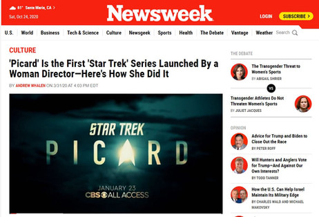 Newsweek - Picard Hanelle Culpepper