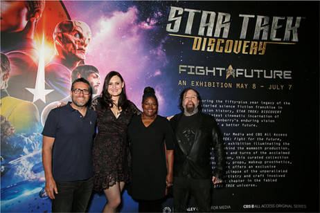 Gersha Phillips Star Trek Lumos PR