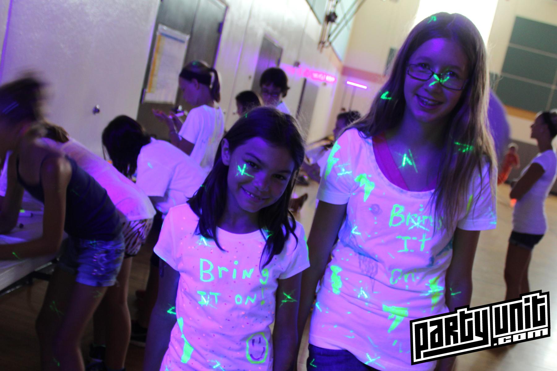 Party Unit - Black Light Dodgeball