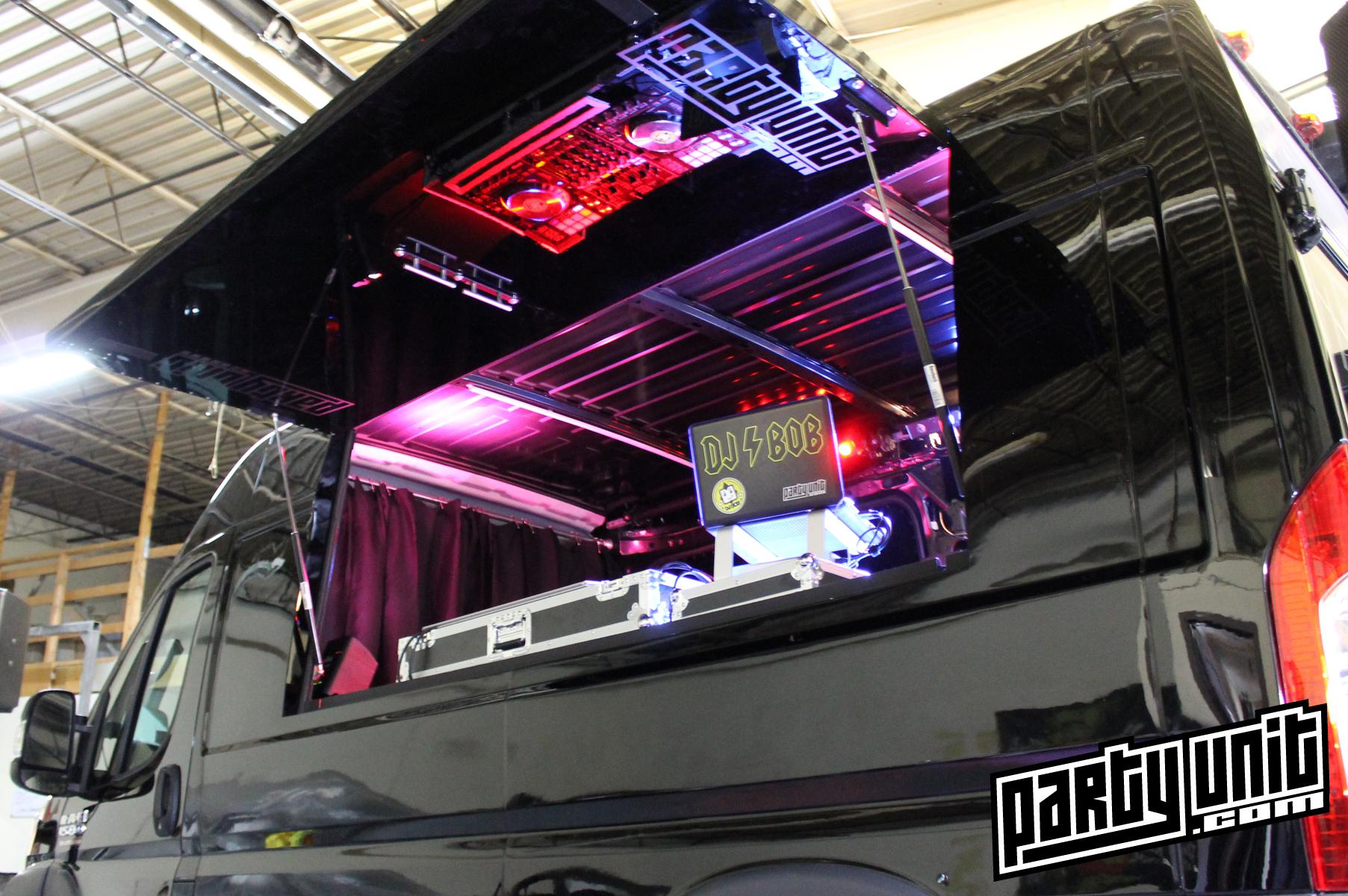 Party Unit - Mobile Party Van