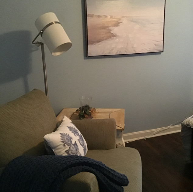 Bedroom Relaxing Corner
