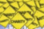Charity written on multiple road sign.jp