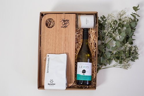 The Indulgence Hamper with Semillon