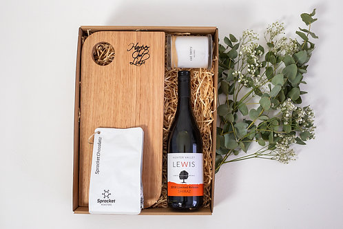The Indulgence Hamper with Shiraz