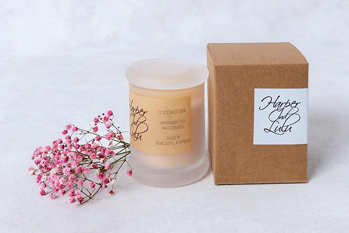 Coconut Lime Soy Wax Candle