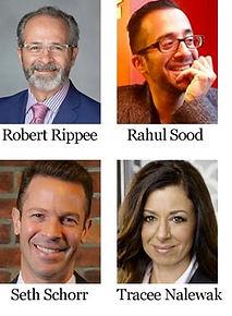 Robert Rippee, Rahul Sood, Serth Schorr, Tracee Nalewak