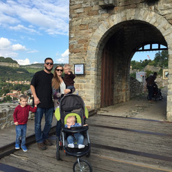 The fortress at Veliko Turnovo