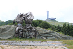 Old communist monuments