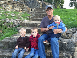 Dyado and a few of his grandsons