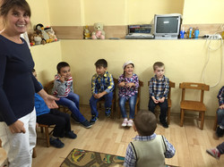 Levi joining in Sunday School
