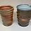 Thumbnail: Vases or utensil holders or giant cups, sold individually or as a pair